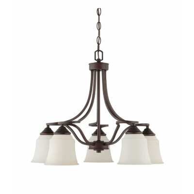 Woollard Down 5-Light Candle-Style Chandelier Finish: Provincial Bronze