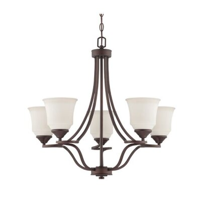 Woollard 5-Light Candle-Style Chandelier Finish: Provincial Bronze