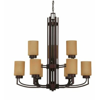 Arrington 9-Light Candle-Style Chandelier