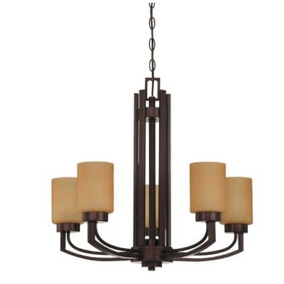 Arrington 5-Light Candle-Style Chandelier