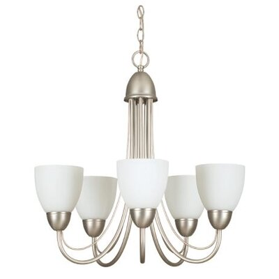 Ayward 5-Light Candle-Style Chandelier