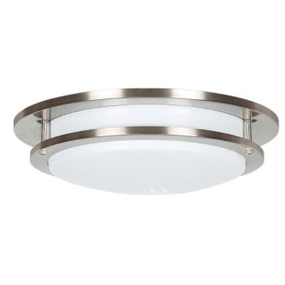 Edmonds Round Flush Mount