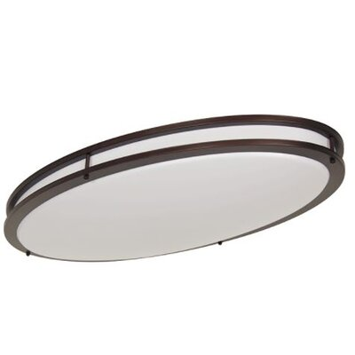 Edmundson LED Oval Flush Mount