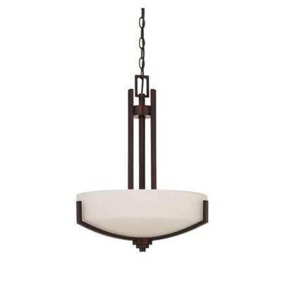 Arrington 1-Light Bowl Pendant Finish: Bronze