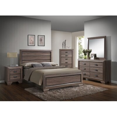 Westman Panel 4 Piece Bedroom Set Bed Size: Queen