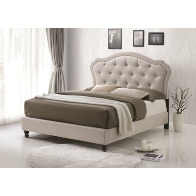 Horrell Queen Upholstered Panel Bed