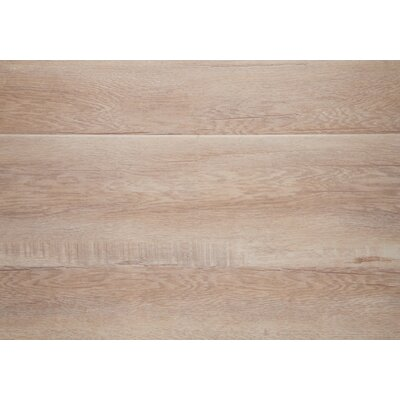 Ibiza 7.5 x 48 x 12mm Oak Laminate Flooring in Beige with Moisture Resistant Wax