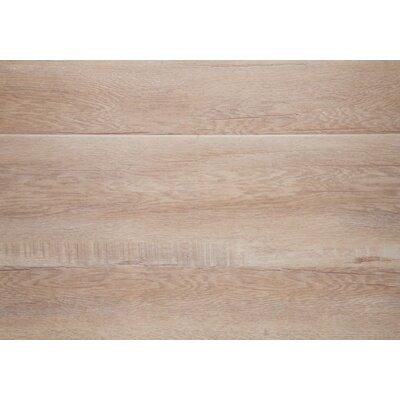 "Ibiza 7.5"" X 48"" X 12mm Oak Laminate Flooring In Beige With Moisture Resistant Wax"