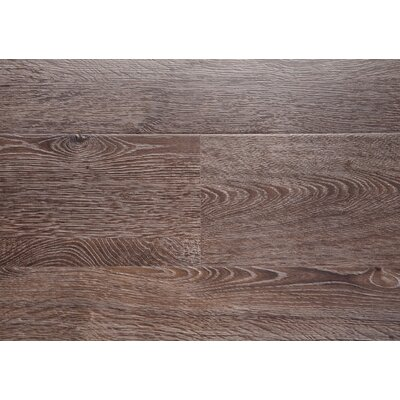 Driftwood 7.5 x 48 x 12mm Oak Laminate Flooring in Brown with Moisture Resistant Wax