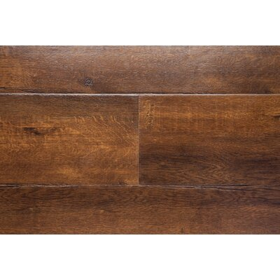 "Havana 7.5"" X 48"" X 12mm Oak Laminate Flooring In Brown"