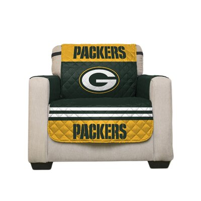 NFL Armchair Slipcover NFL Team: Green Bay Packers