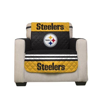 NFL Armchair Slipcover NFL Team: Pittsburgh Steelers