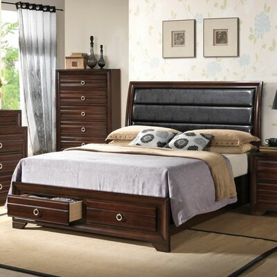 Newfoundland Platform 4 Piece Bedroom Set Bed Size: King
