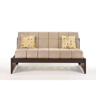 Daigle Full/Double Daybed Color (Frame/Headboard): Chocolate/Cream