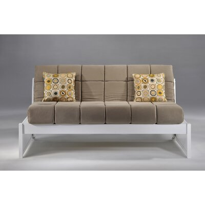 Daigle Full/Double Daybed Color (Frame/Headboard): White/Light Gray