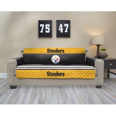 NFL Sofa Slipcover NFL Team: New England Patriots