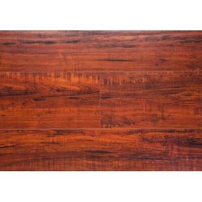 6.5 x 48 x 12mm Oak Laminate Flooring in Rosewood