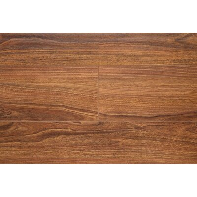 6.5 x 48 x 12mm Oak Laminate Flooring in Walnut