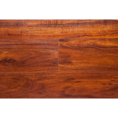 6.5 x 48 x 12mm Oak Laminate Flooring in Brazilian Cherry