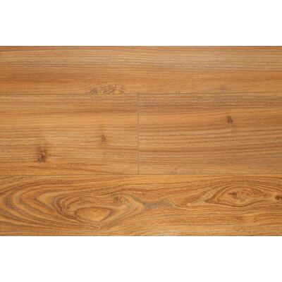 6.5 x 48 x 12mm Oak Laminate Flooring in Golden Oak