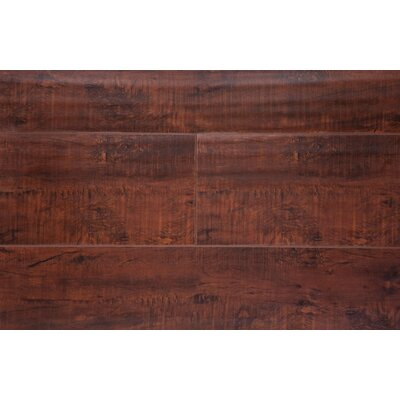 6.5 x 48 x 12mm Oak Laminate Flooring in Antique Walnut