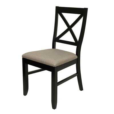 Figueiredo Dining Chair Frame Color: Espresso