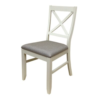 Figueiredo Dining Chair Frame Color: Cotton White