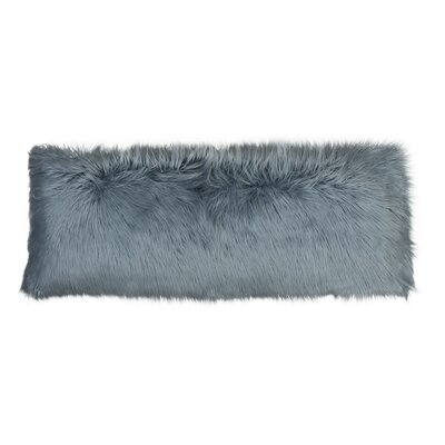 Hartt Mongolian Faux Fur Throw Pillow Color: Arona