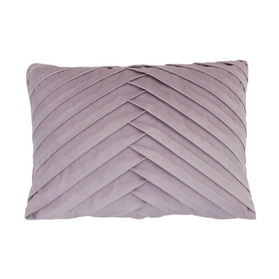 Hartsock Pleated Throw Pillow Color: Nirvana
