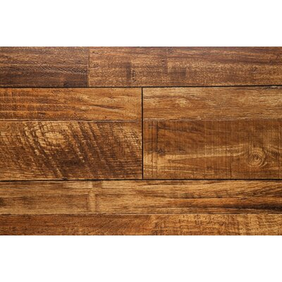 Wheat 7.5 x 48 x 12mm Oak Laminate Flooring in Brown