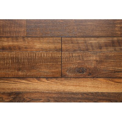 7.5 x 48 x 12mm Oak Laminate Flooring in Copper