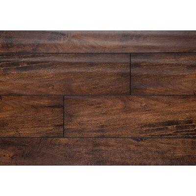 "Harrington 5"" X 48"" X 12mm Oak Laminate Flooring In Walnut"