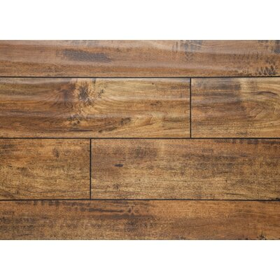 "Prairie 5"" X 48"" X 12mm Oak Laminate Flooring In Gold"