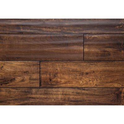 Harvest 5 x 48 x 12mm Oak Laminate Flooring in Gold
