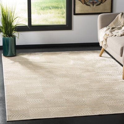 Lucian Stone Area Rug Rug Size: Rectangle 53 x 76