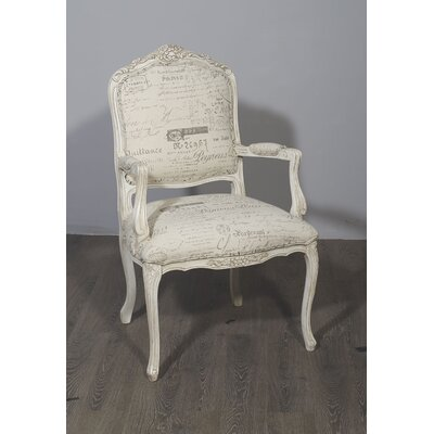 Adamo Armchair Frame Color: White
