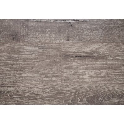 "Manhattan French 8"" X 48"" X 12mm Oak Laminate Flooring In Gray"