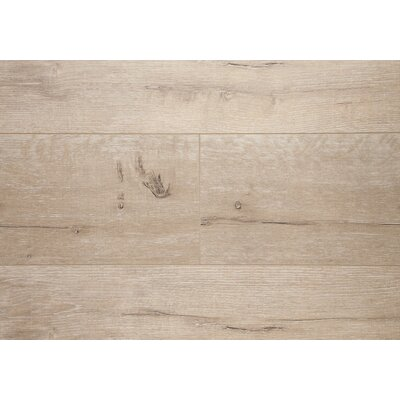Manhattan 7.5 x 48 x 12.3mm Oak Laminate Flooring in Golden Ash