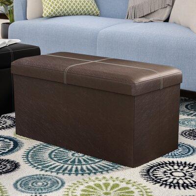 Everett Storage Ottoman Upholstery: Brown