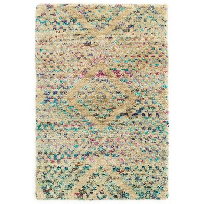 Opal Hand-Woven Beige Area Rug Rug Size: Rectangle 8 x 10