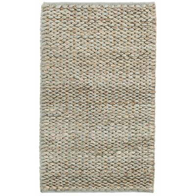 Dappled Sea Glass Hand-Woven Blue Area Rug Rug Size: Rectangle 5 x 8