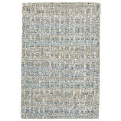 Geneva Hand-Woven Gray Area Rug Rug Size: Rectangle 2 x 3