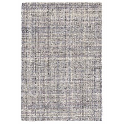 Harris Amethyst Micro Hand-Hooked Wool Purple Area Rug Rug Size: Rectangle 5 x 8