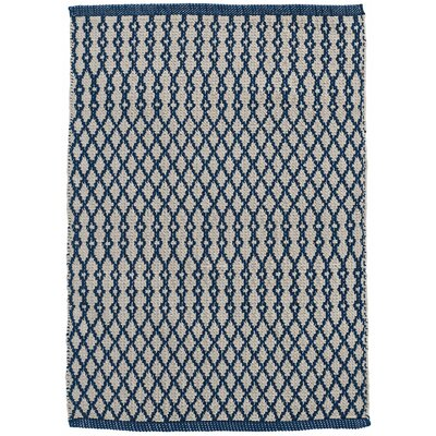 Harvey Hand-Woven Blue Indoor/Outdoor Area Rug Rug Size: Rectangle 8 x 10
