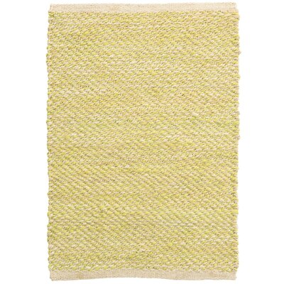 Jacinto Chartreuse Hand-Woven Green Area Rug Rug Size: Rectangle 2 x 3