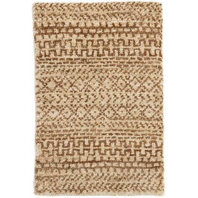 Kel Hand-Woven Brown Area Rug Rug Size: Rectangle 2 x 3