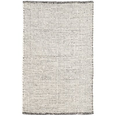 Network Hand-Woven Black Area Rug Rug Size: Rectangle 2 x 3