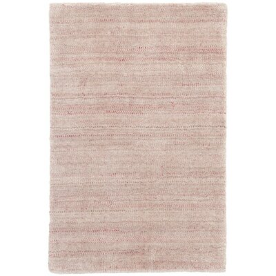 Palais Hand-Woven Pink/Gray Area Rug Rug Size: Rectangle 8 x 10