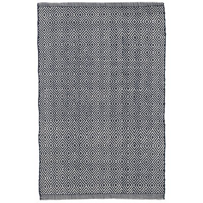 Petit Hand-Woven Gray/White Indoor/Outdoor Area Rug Rug Size: Rectangle 86 x 11