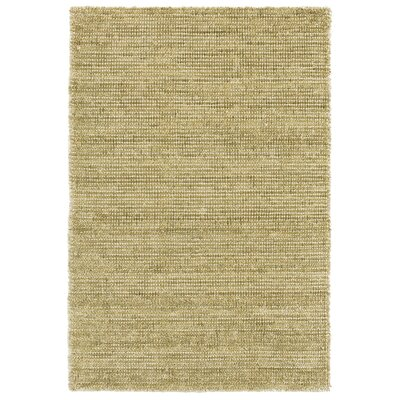 Quartz Hand-Woven Green Area Rug Rug Size: Runner 26 x 8